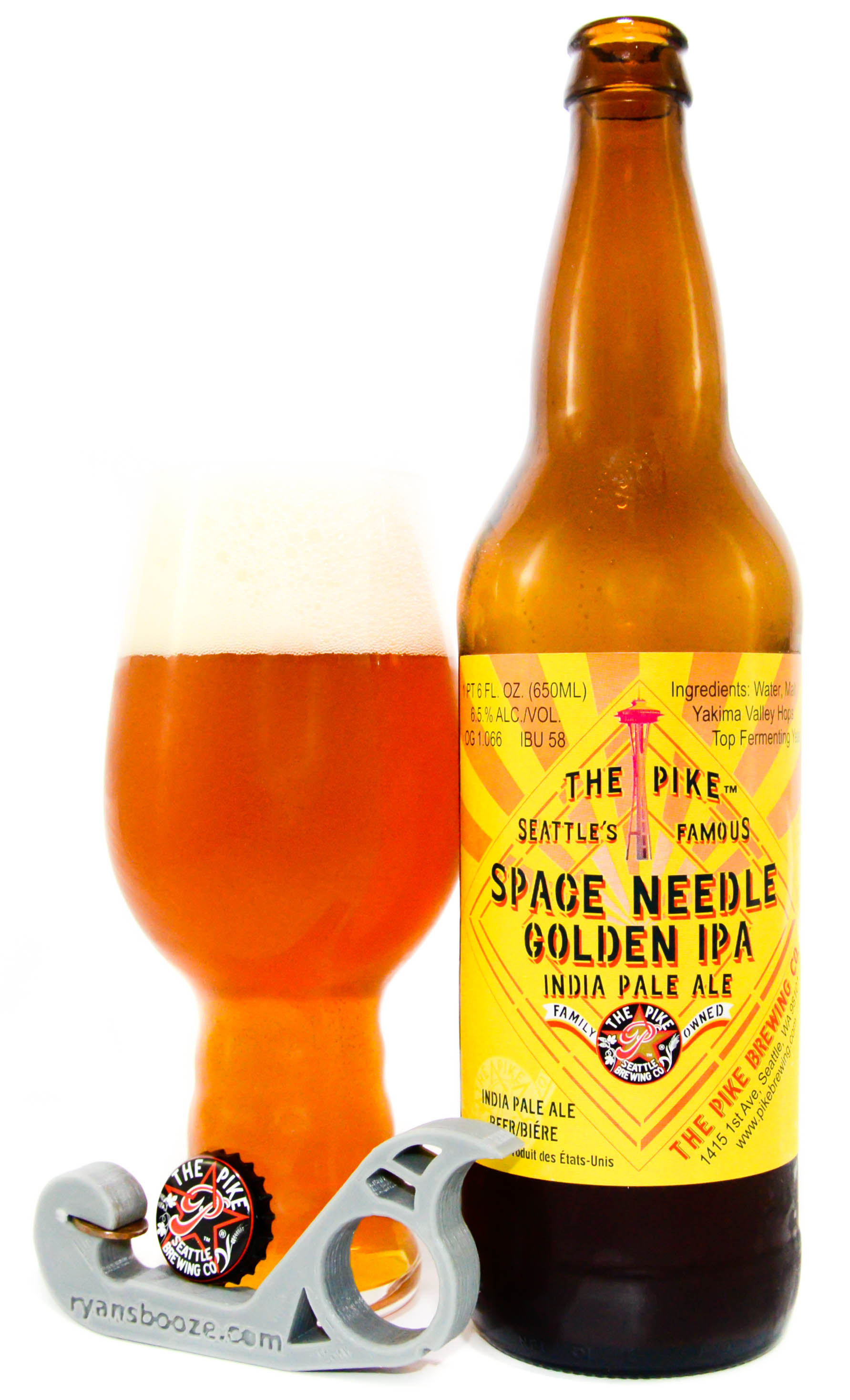Pike Brewing Company Space Needle Golden IPA – American IPA