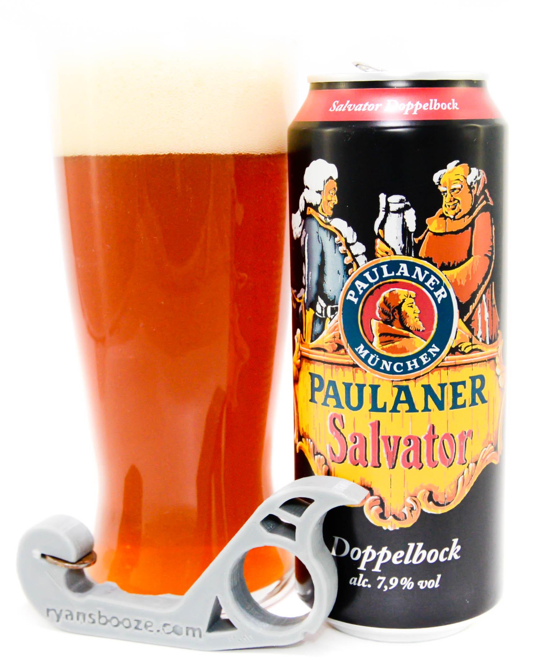 cerveza paulaner salvator doppelbock 330cc - alemania
